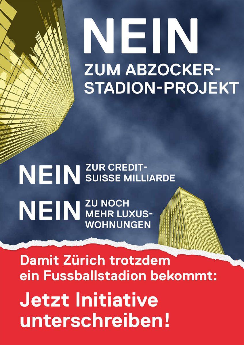 Fur Ein Fussballstadion Ohne Abzocke Sp Stadt Zurich